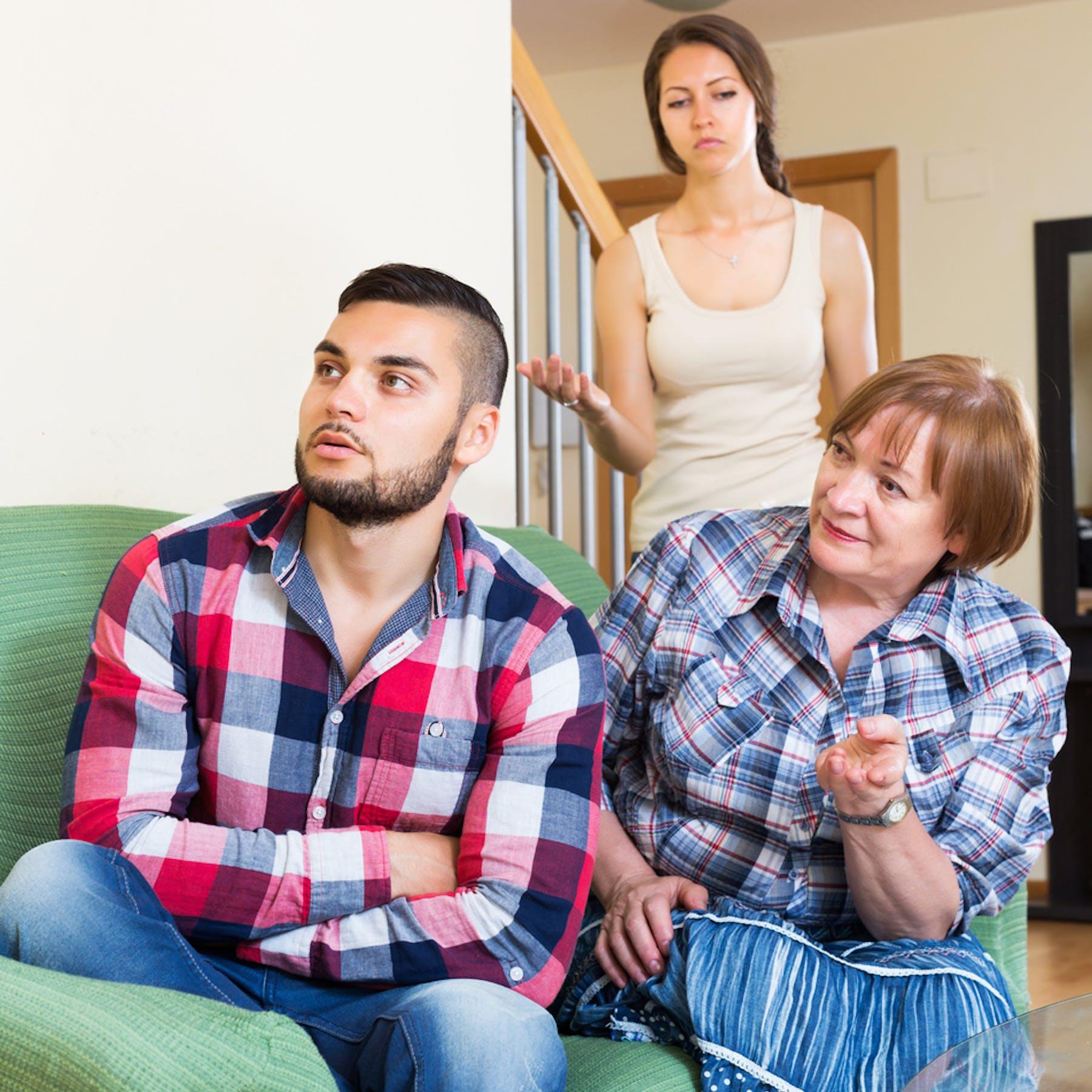 Establishing boundaries with suffocating in-laws - Winnie